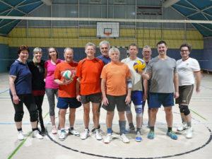 Volleyball-Gruppe Mittwoch