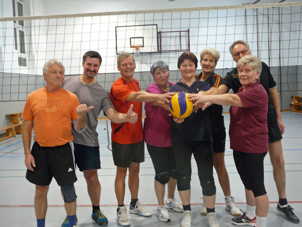 Volleyball-Gruppe Donnerstag